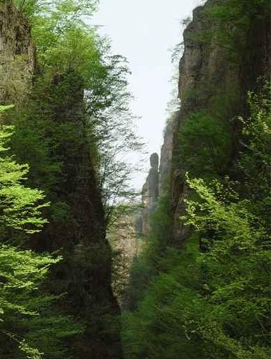 百里峡风景区